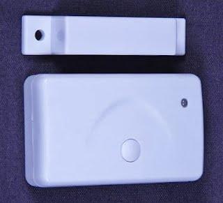 gsm pstn alarm security wireless door magnetic sensor
